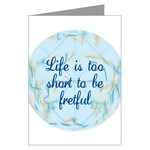 2 Short Greeting Cards (Package of 6)